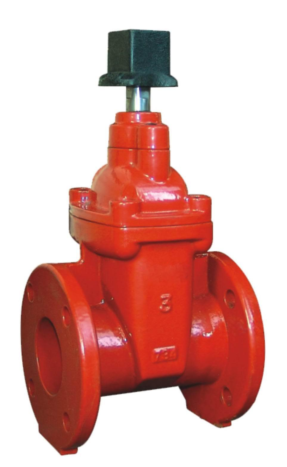 Flanged Ends NRS Resilient Seated Gate Valves-AWWA C509-UL FM Approval