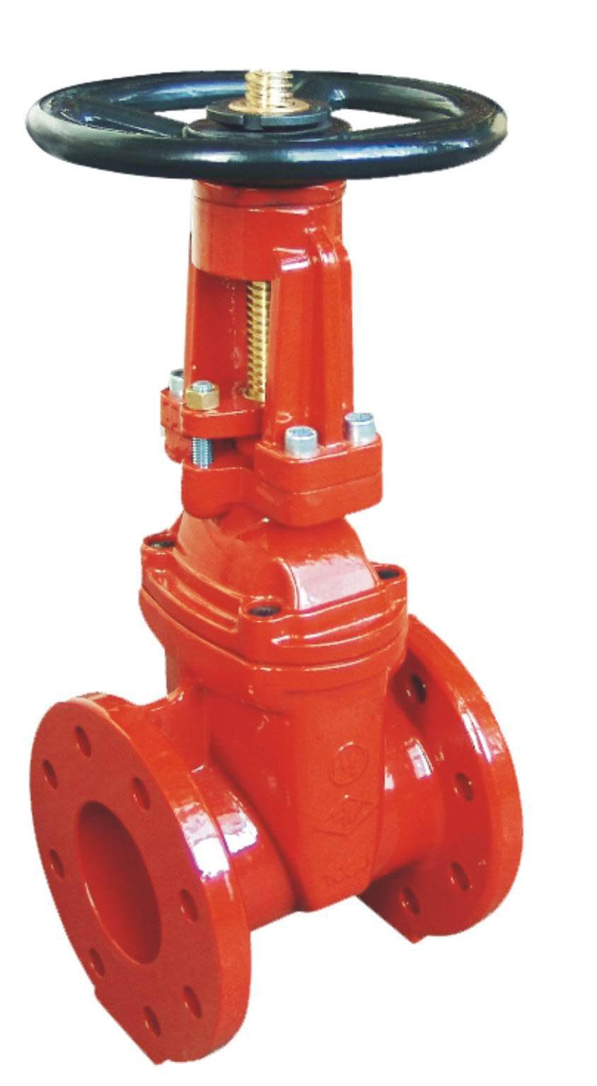 Flanged Ends OSY Resilient Seated Gate Valves-AWWA C509-UL FM Approval