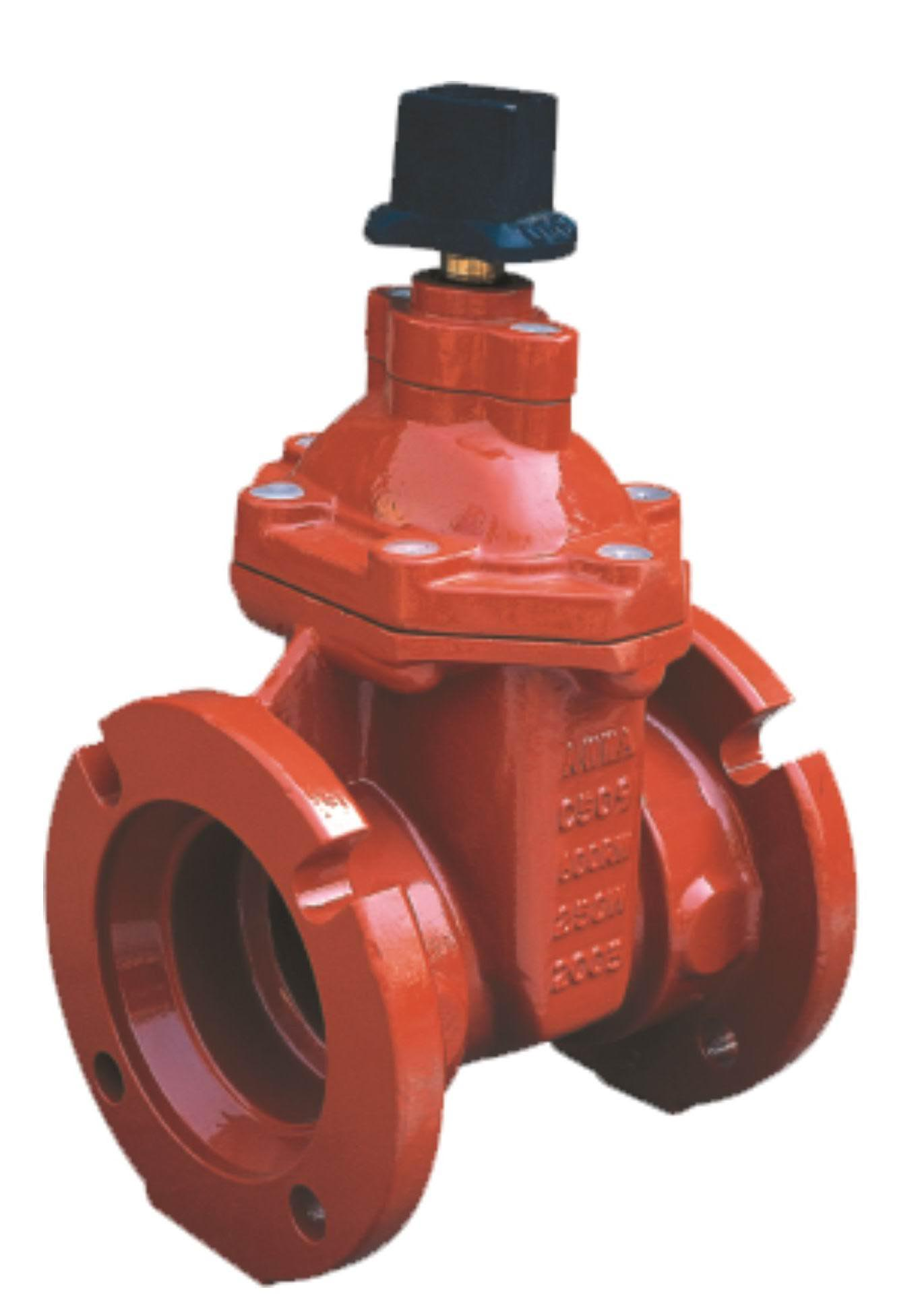 Mechanical Joint Ends NRS Resilient Seated Gate Valves-AWWA C509-UL/FM Approval