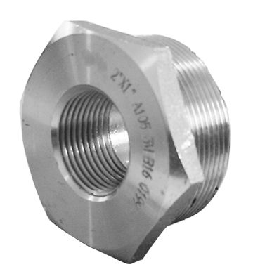 HEXAGON BUSHING-THREADED
