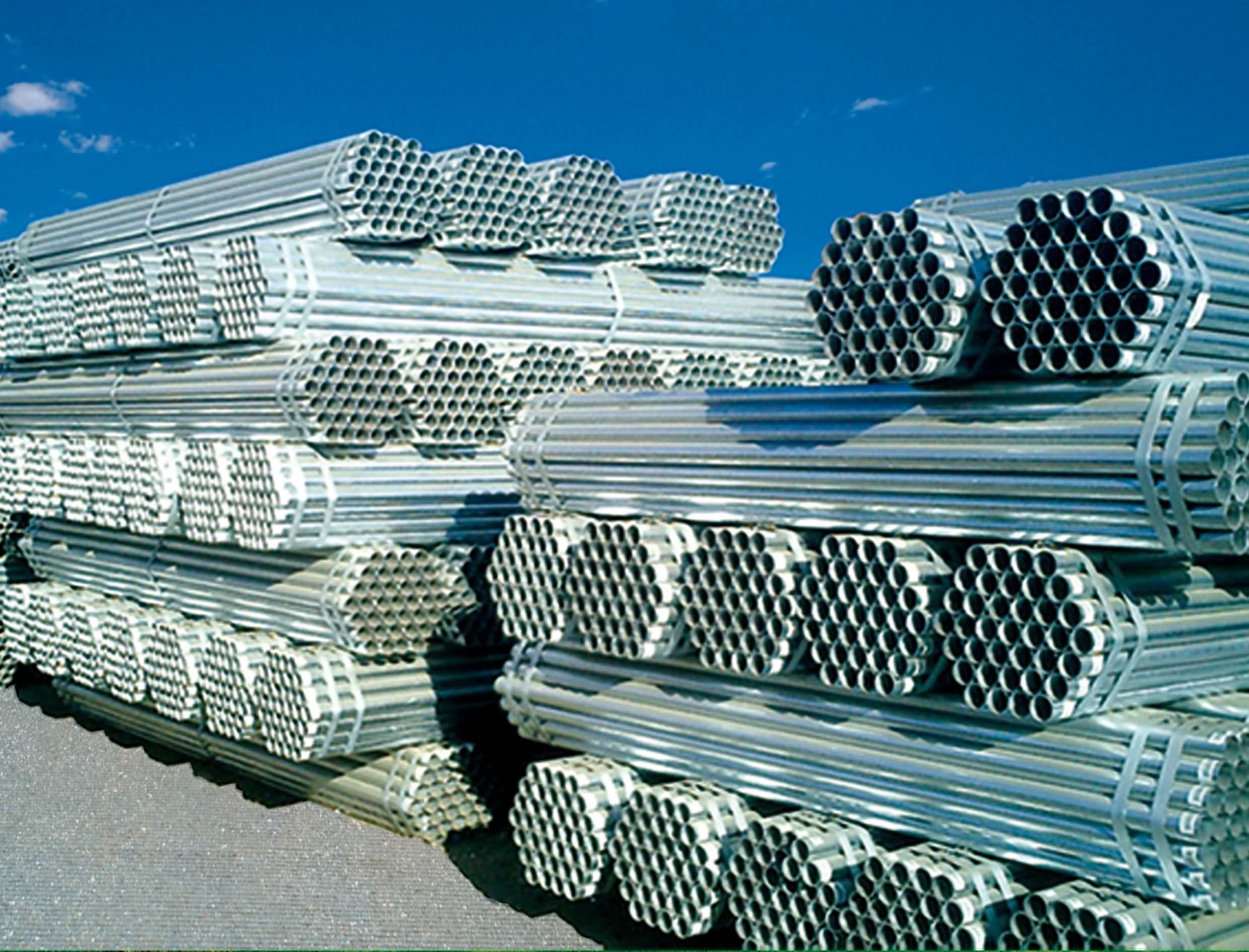 Hot-dipped and Pre-galvanized steel pipes