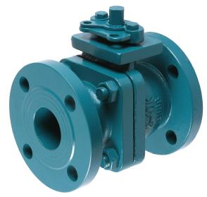 JIS Cast Iron Ball Valves with ISO5211 Mounting Pad