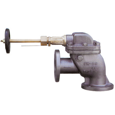 JIS F3060-S3060 Marine Cast Steel Screw-Down Angle Storm Valves