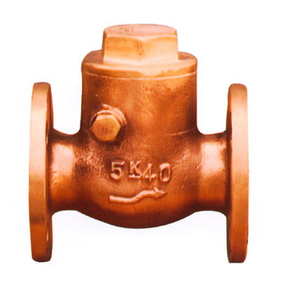 JIS F7371 Marine Bronze Swing Check Valves
