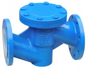 Lined Through-way Lift Check Valve