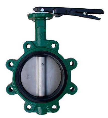 Lug Type Butterfly Valves,F101,Stem with Pin