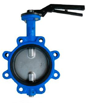 Lug Type Butterfly Valves,F201, Double Half Stem