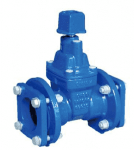 Mechanical Type Resilient Seated Gate Valve for PVC Pipe