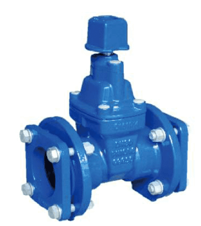 Mechanical Type Resilient Seated Gate Valve for PVC Pipe Featured Image