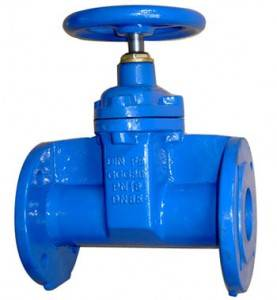 Flanged End NRS Seigur Sitjandi Gate Valves, DIN3352 F5