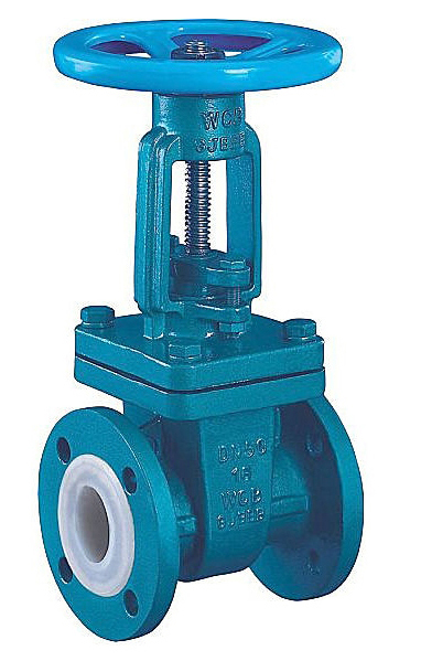 PFA Lined Gate Valve Featured Image
