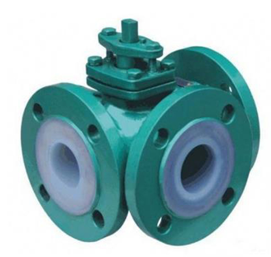 PFA Lined Three Way Ball Valve Featured Image