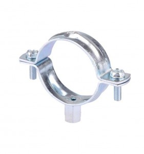 Pipe Clamp With M8+10 Nut & Without Rubber