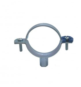 Pipe Clamp With Plastic Clip & Without Rubber
