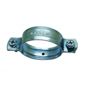Pipe Clamp With Two Reinforced Rib & Without Rubber