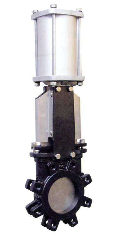 Pneumatic Lug Type Rising Stem Knife Gate Valves