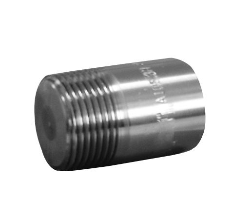 ROUND PLUG-THREADED