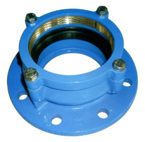 Restrained Flange Adaptors for HDPE Pipes