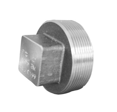 SQUARE PLUG-THREADED