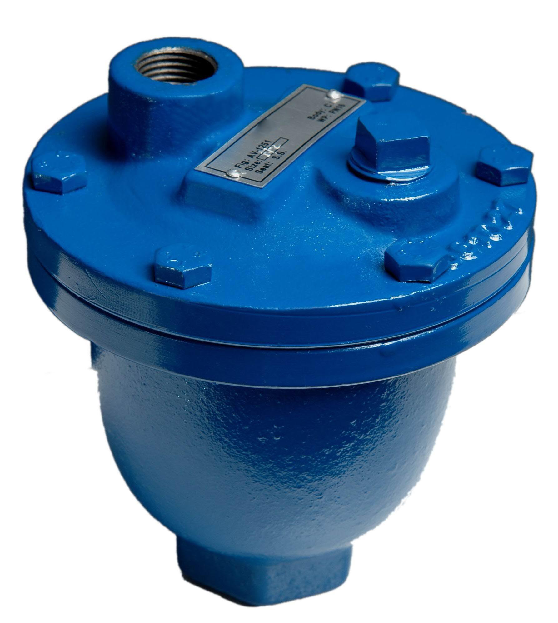 Single orifice Automatic Air Valves, Threaded End, UL FM Idhini