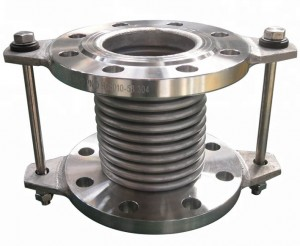 Stainless Steel Bellow Joint Connection to Absorb Vibration