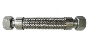 Stainless Steel Braided Flexible Hose With Union End