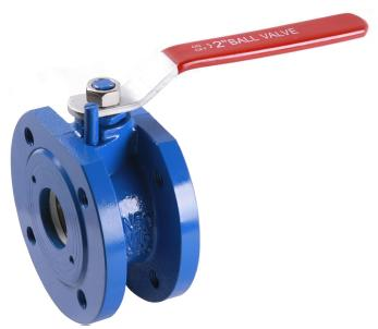 Wafer Type Cast Iron Ball Valves