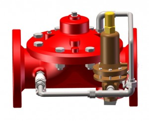 Pressure Reducing Valve with FM Approval