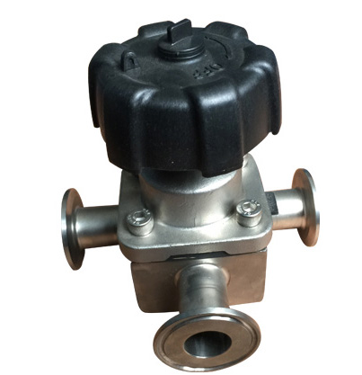 Three Way Diaphragm valves