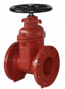 Flanged End NRS Resilient Seated Gate Valves-AWWA C515 UL FM