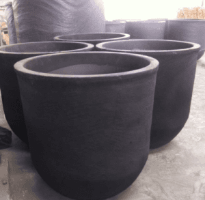 Silicon Carbide Graphite Crucible for Melting Industrial Foundry