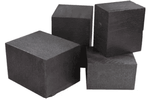 isostatic graphite and special Graphite block used in EDM Vacuum furnace gold melting crucible
