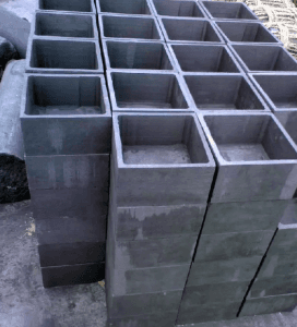 high quality High Hardness Molded Graphite Block