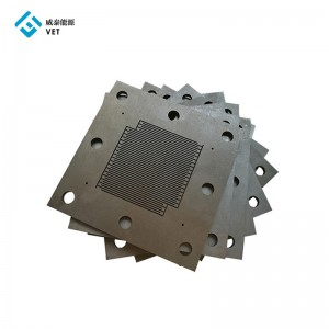 Industrial grade graphite bipolar plates for electrolysis in electrolyser