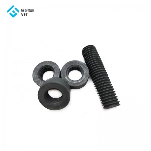 Hex graphite nut