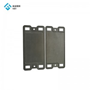 Graphite bipolar plates for fuel cell car
