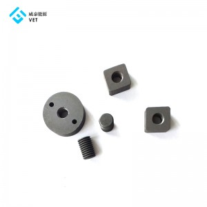 Graphite nuts for vacuum boiler