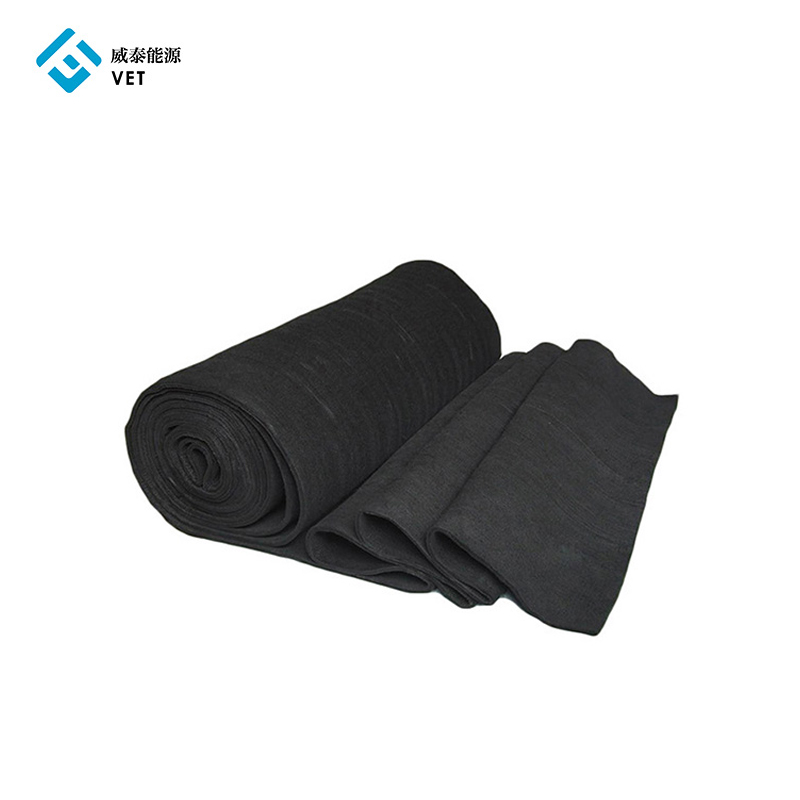 Active carbon felt, activated carbon felt fabric 5mm Featured Image