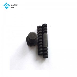 Hex graphite bolt