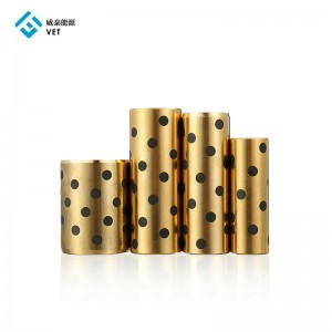Round Linear Graphite Copper Sleeve Slide Ball Bearing