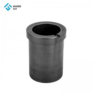 Refractory graphite crucible, pyrolytic graphite melting crucibles