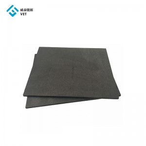 High strength quality impermeable graphite plate