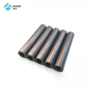 Customized graphite tube factory, fine grain edm graphite tube