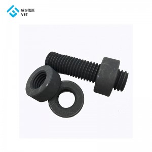 Graphite/Carbon Screw, Graphite Bolt for Continuous Casting Sintering EDM