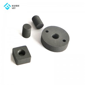 Graphite bolts for vacuum furnace