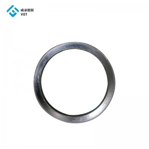 Natural mechanical precise carbon graphite ring