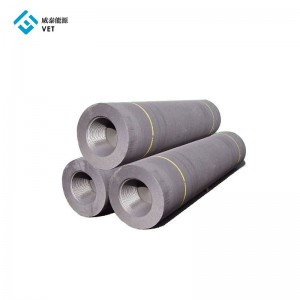 Graphite electrode hp for steel plant smelting