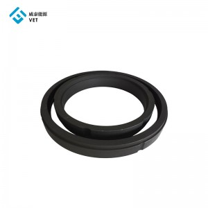 Mechanical carbon graphite sealing ring for Rotary joint
