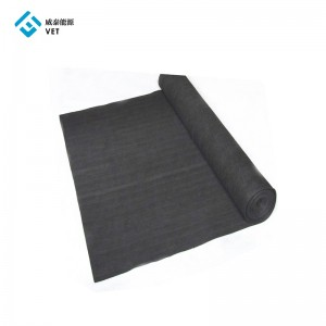 Pan Based Carbon Fiber Soft Graphite Felt for Inert gas
