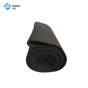 PAN-based Carbon Fiber Felt Pad as Thermal Insulation Graphite Felt